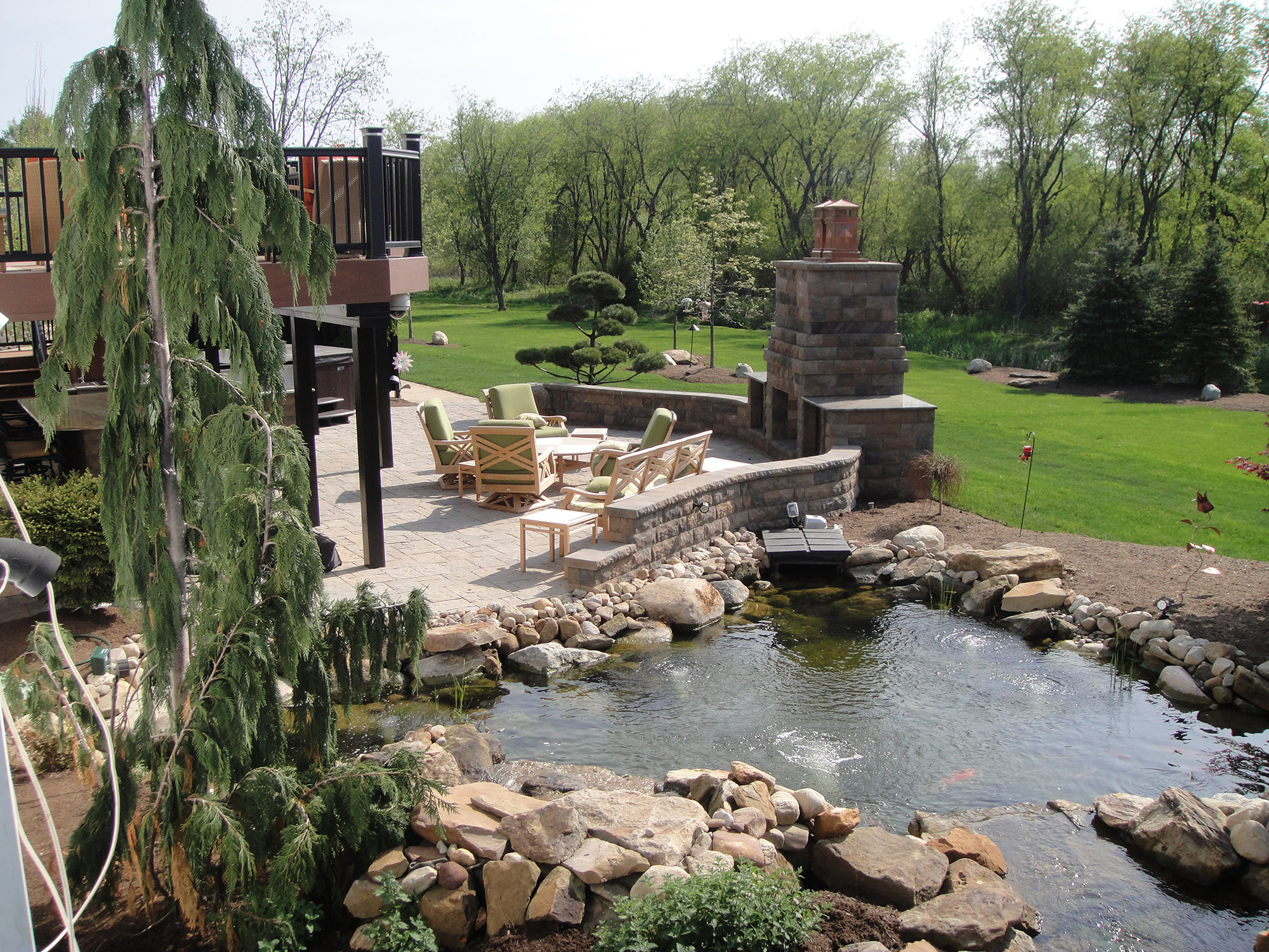 Ponds And Water Features Mock Property Services