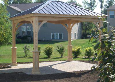 10x12 Hampton Pavilion Regular Roof (2)